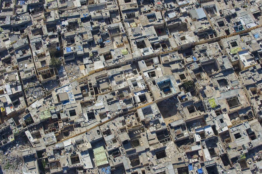 Крыши жилых домов в Триполи