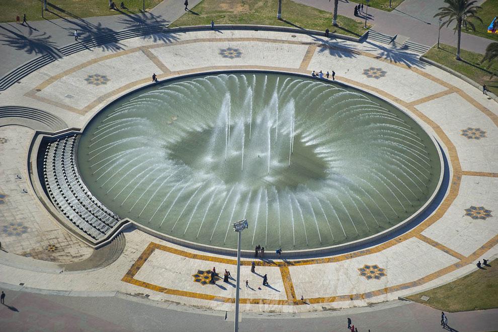 Большой фонтан на площади Мучеников в Триполи
