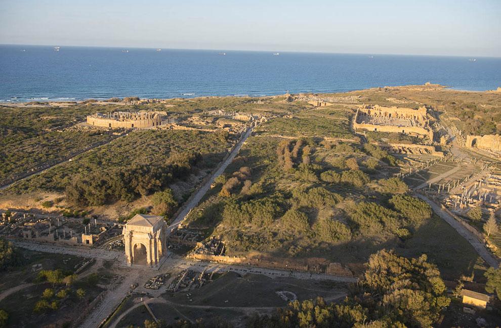 Благодаря своей планировке древний город Лептис-Магна получил название «Рим в Африке»