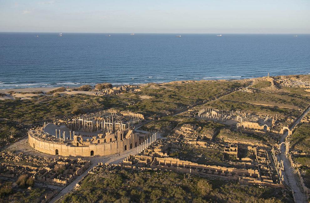 В Лептисе остались впечатляющие руины римского периода