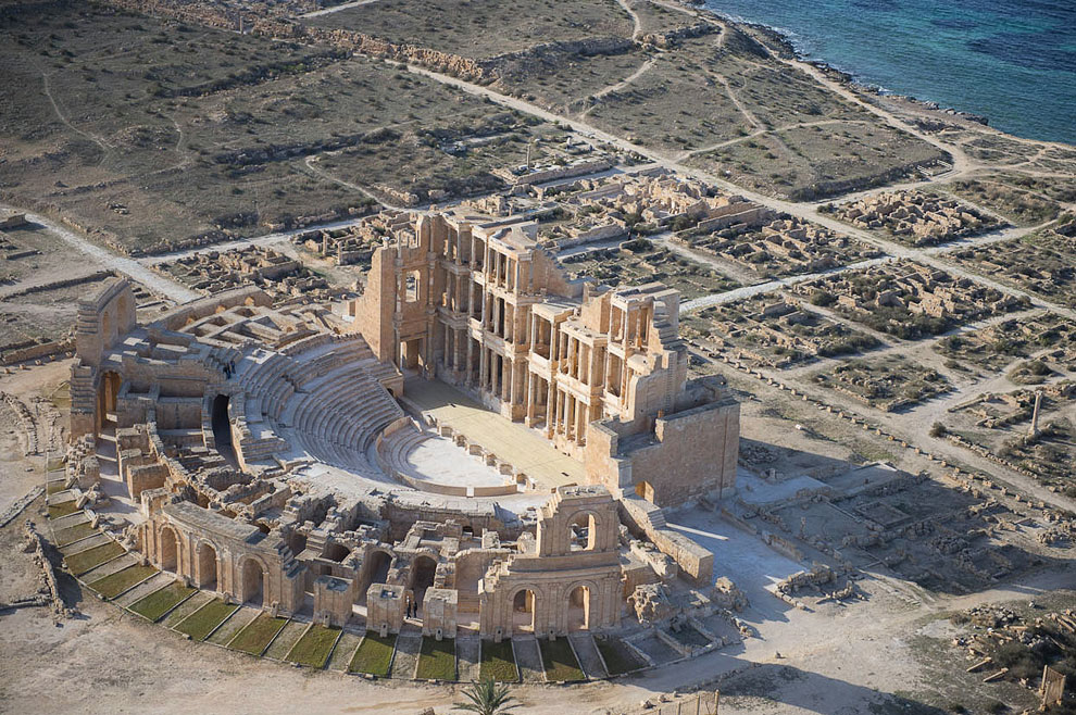 Римский театр в Сабрате, Ливия