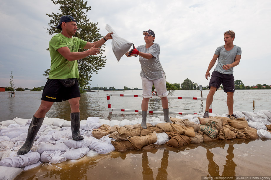 Как спасти город от наводнения