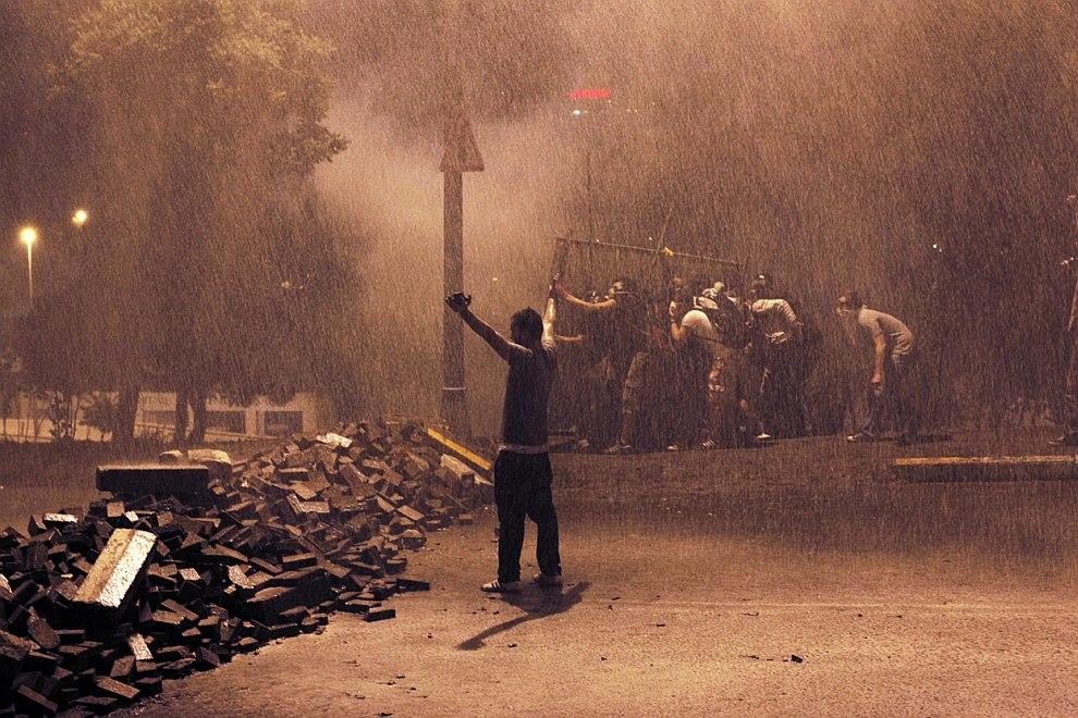 На баррикадах в Стамбуле