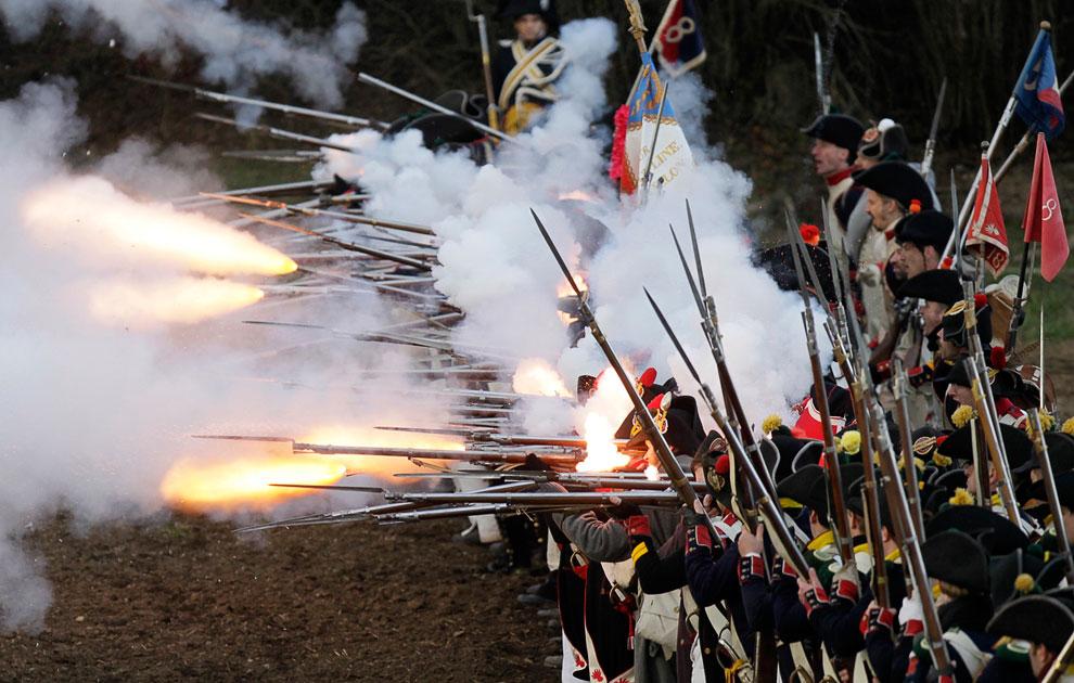 Военно-историческая реконструкция знаменитой битвы под Аустерлицем 1805 года