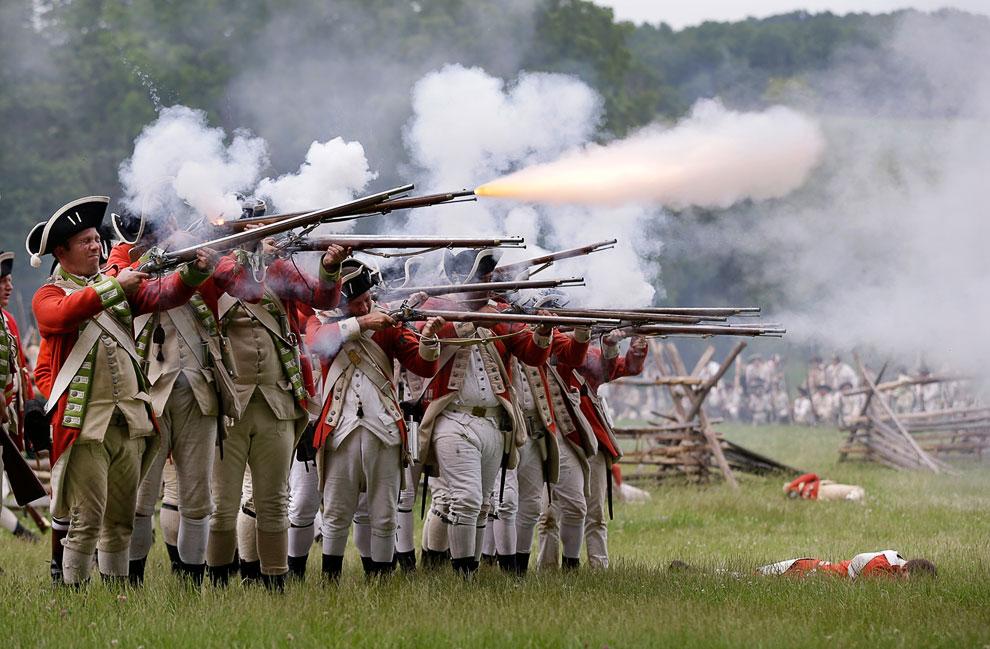 Военно-историческая реконструкция Войны за независимость США