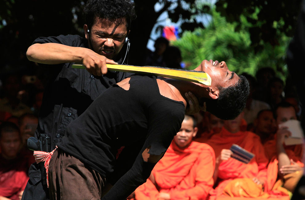 Камбоджийцы отметили 20 мая 2013 «День гнева» — день памяти жертв геноцида