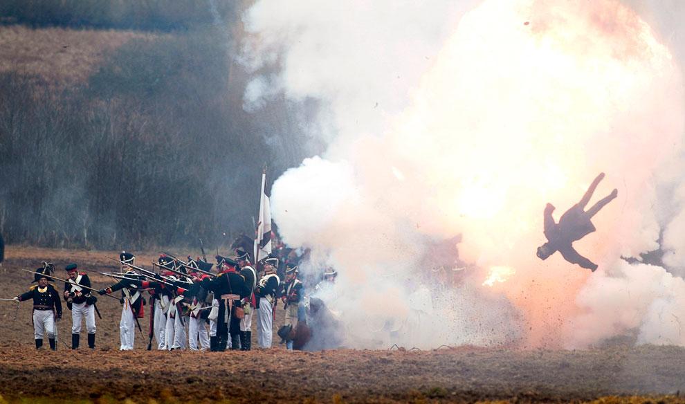Военно-историческая реконструкция сражения на Березине