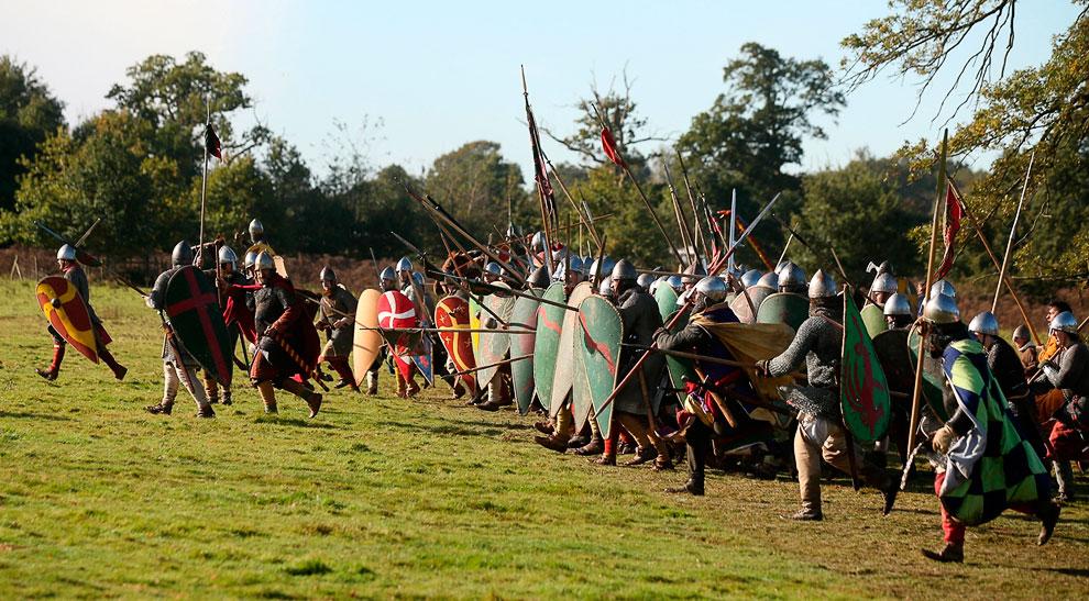 Военно-историческая реконструкция Битвы при Гастингсе 1066 года