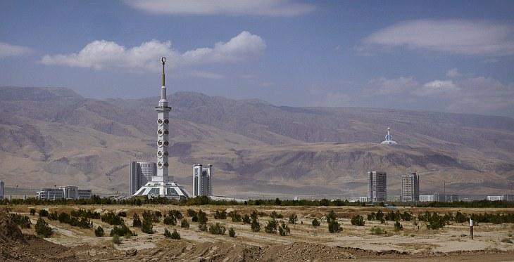 Ашхабад — город из белого мрамора
