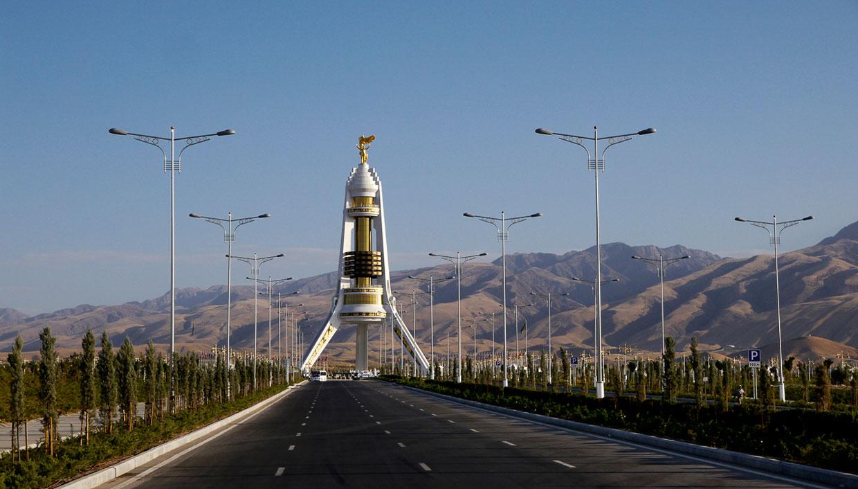 Монумент Нейтралитета в Ашхабаде