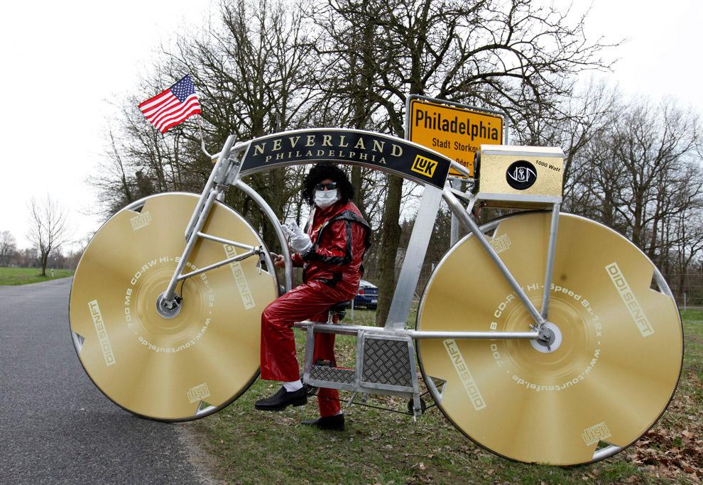 Немецкий дизайнер велосипедов и его проект в США, недалеко от Филадельфии