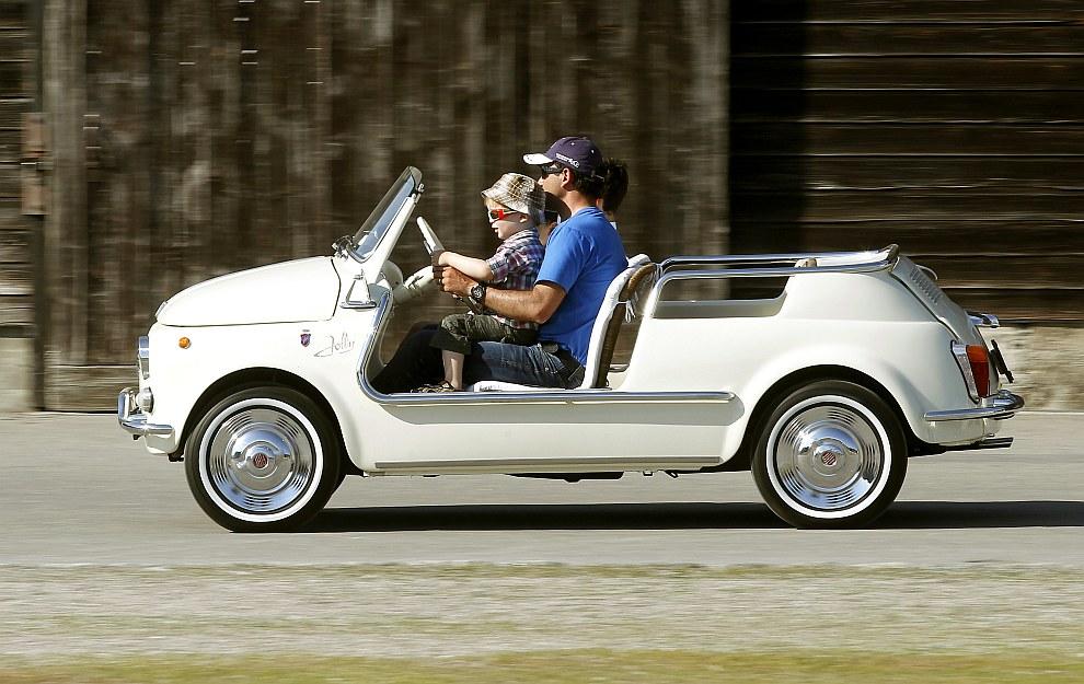 Тюнинговый Fiat 500