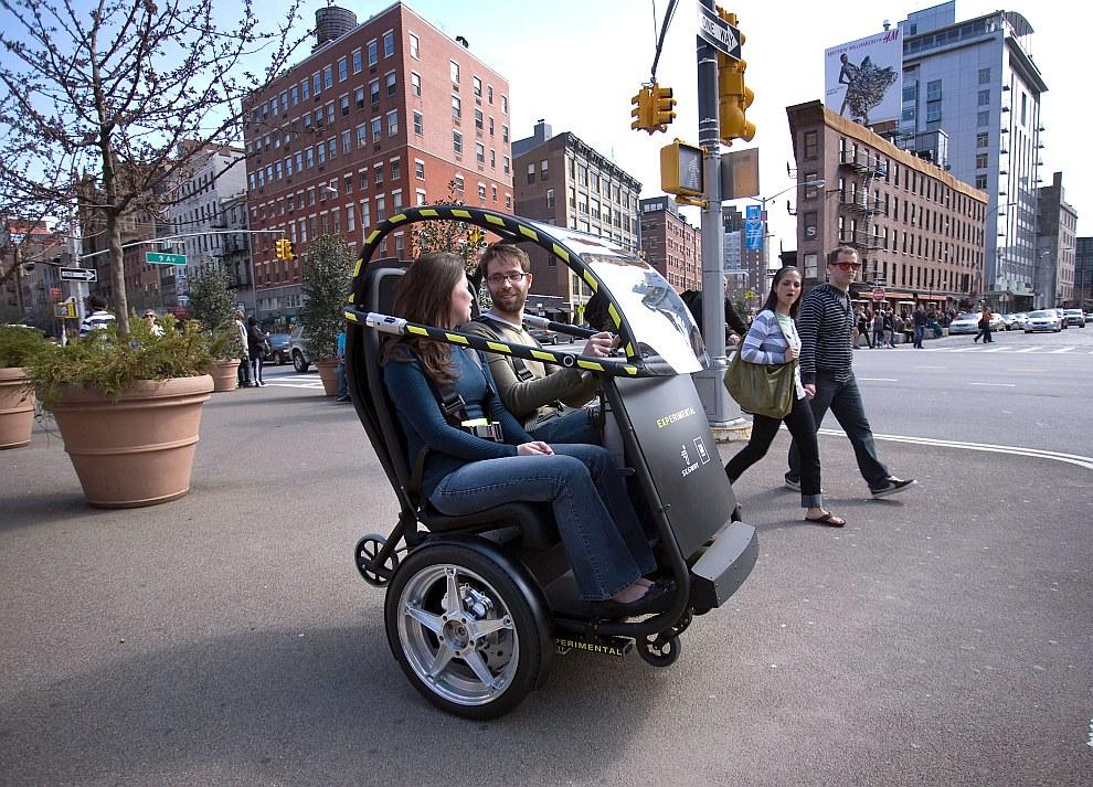 Тест-драйв микро-автомобиля в Бруклине