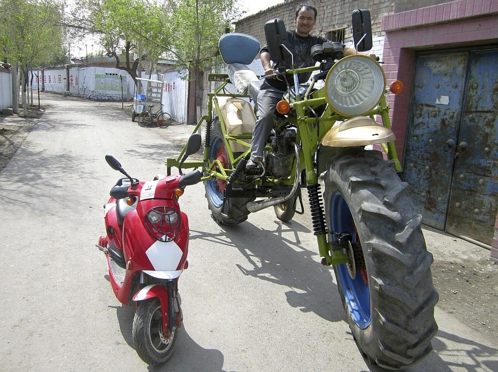 Самодельный мотоцикл-монстр
