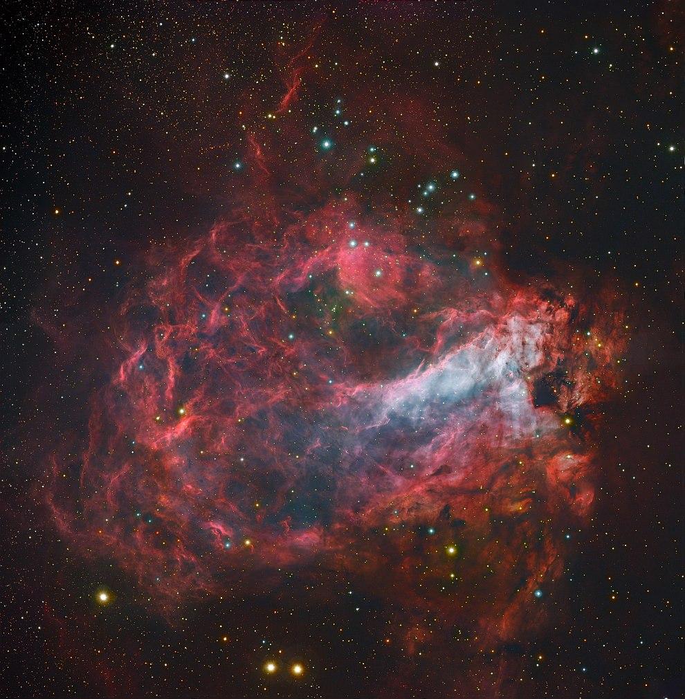 Звездная фабрика Мессье 17