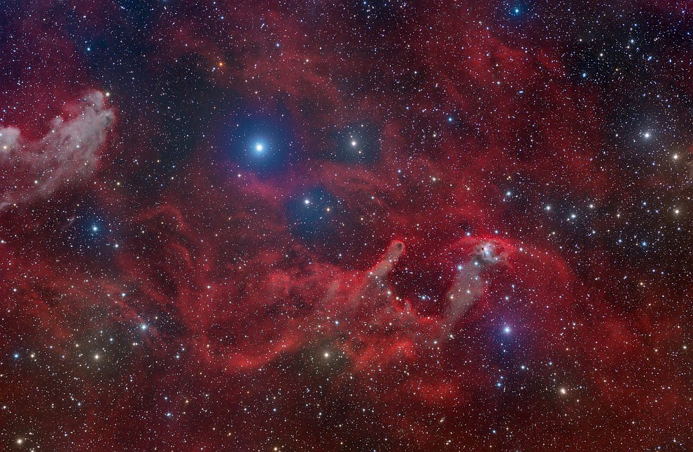 Туманность NGC 1788 и Усы Ведьмы