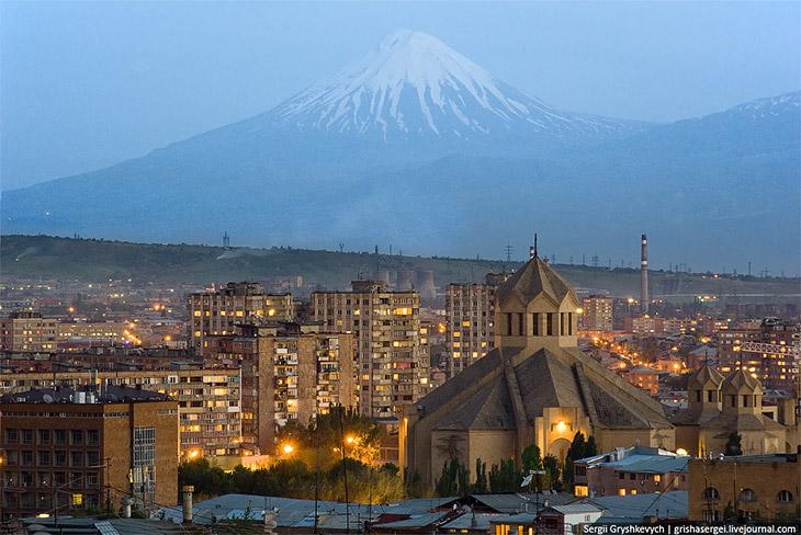Прогулка по Еревану
