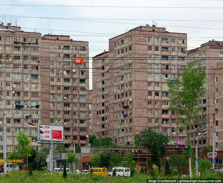 Ереван и другие армянские города не спутаешь ни с какими другими земными городами благодаря ереванскому туфу