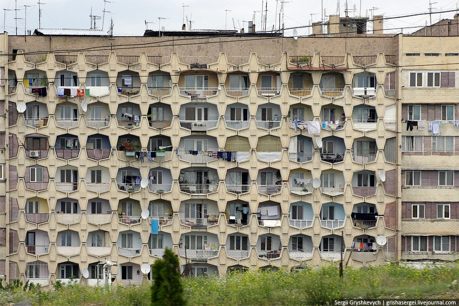 В Ереване много примеров хорошей архитектуры советской эпохи