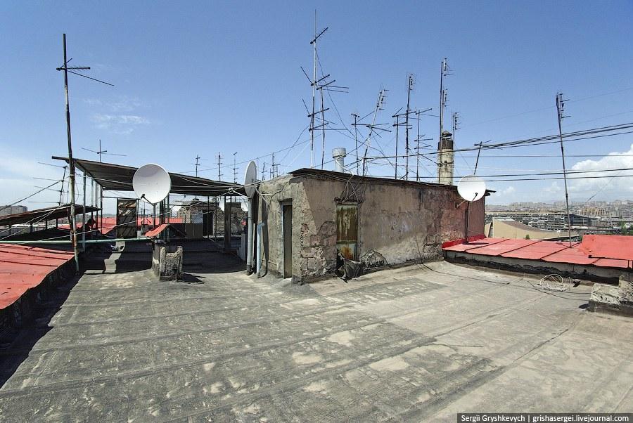 С крышами в Ереване все отлично