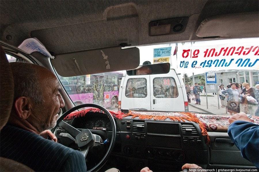 Маршрутка в Ереване