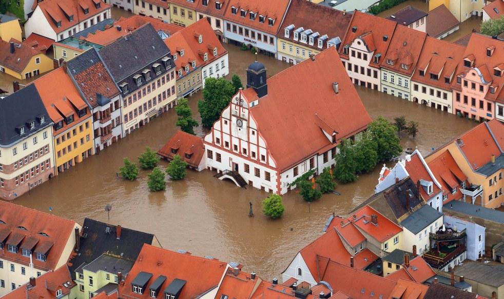 Мэрия города  Гримма, Германия