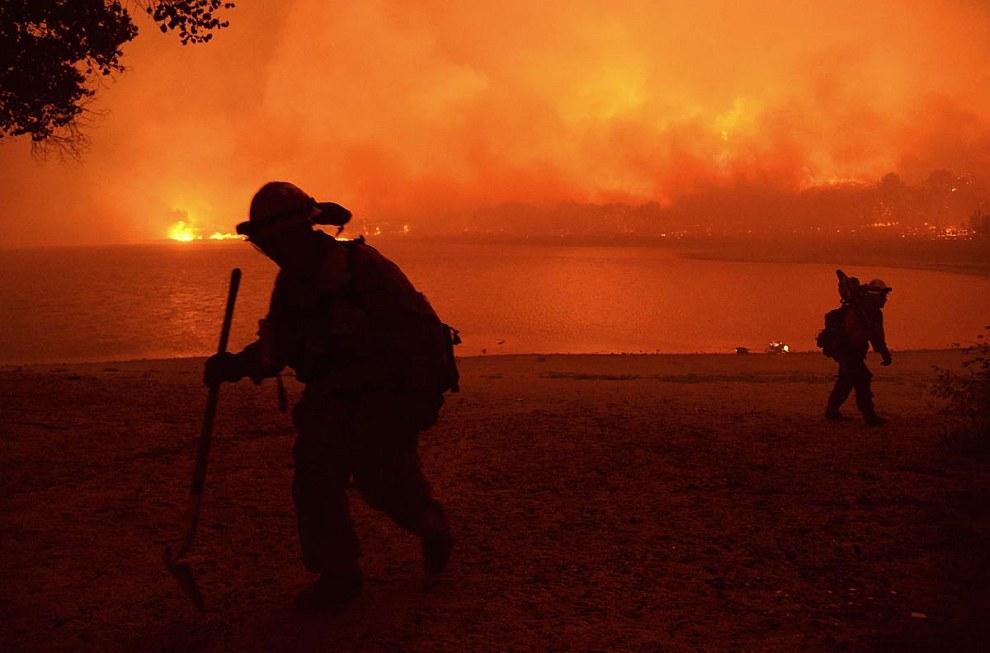 Пожарные. Калифорния
