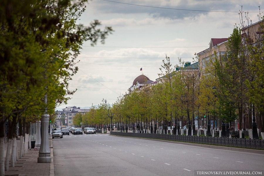 Прогулка по Грозному