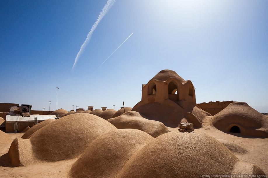 Глиняный город в Иране