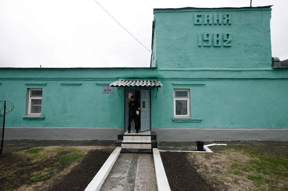 Банно-прачечный комплекс в колонии строгого режима в Красноярском крае