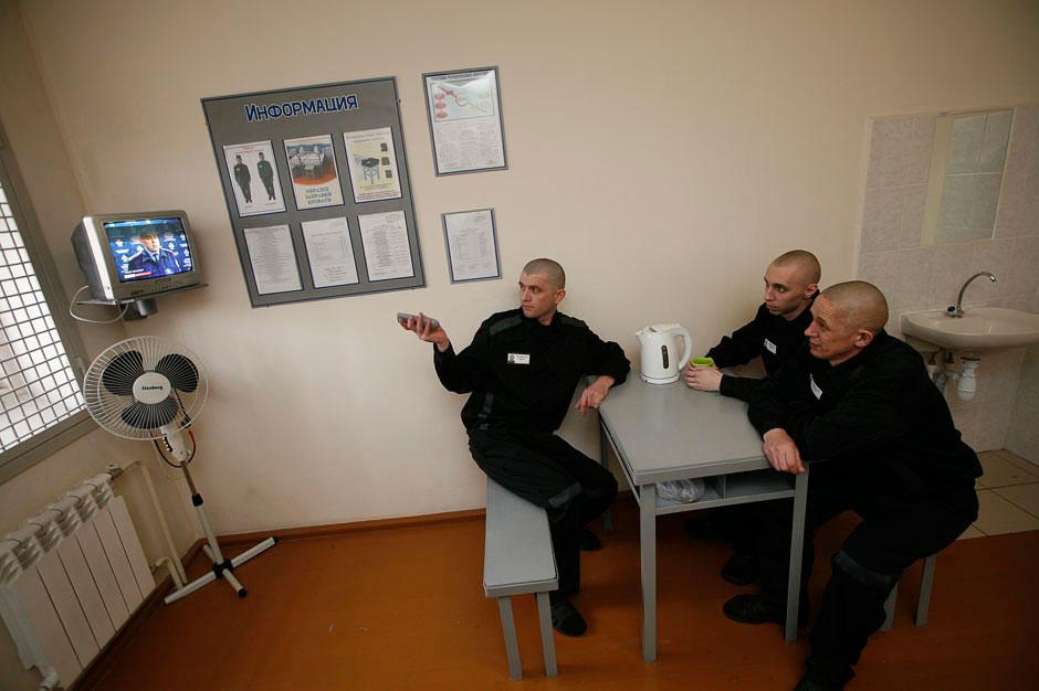 Помещение для недавно прибывших заключенных