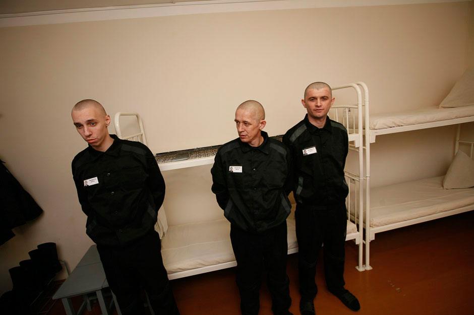 Временные помещения для недавно прибывших заключенных