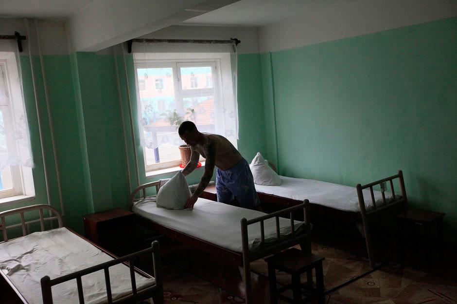 Это уже другая исправительная колония № 5 в Красноярском крае