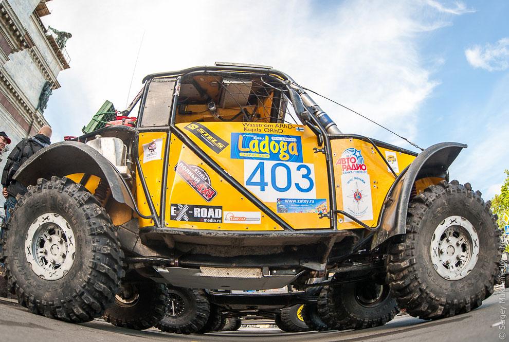 «Ладога-Трофи» 2013 — уникальные внедорожные соревнования