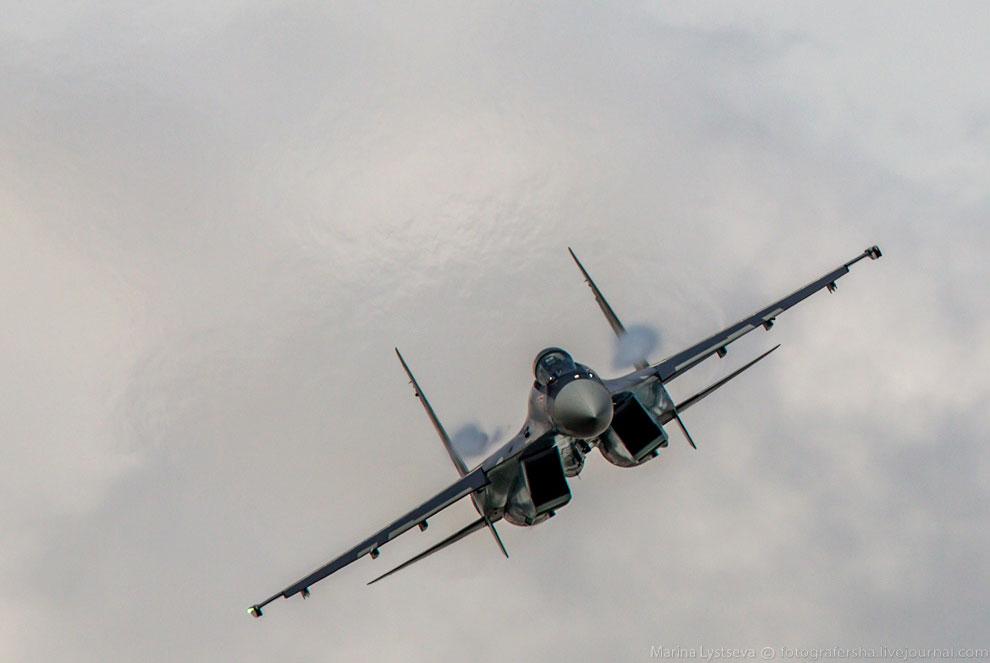 Многоцелевой сверхманевренный истребитель Су 35С