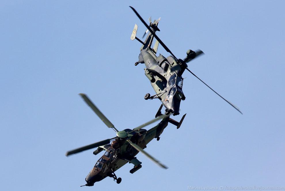 Современный ударный вертолёт Tiger