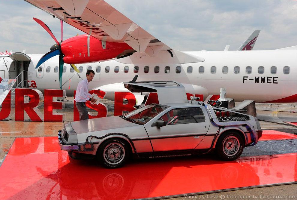 ATR72-600 и легендарная машина времени Делориан из фильма «Назад в будущее»: