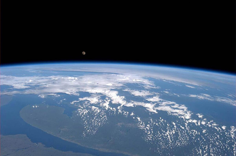 Так выглядело Суперлуние 2013 с Международной космической станции