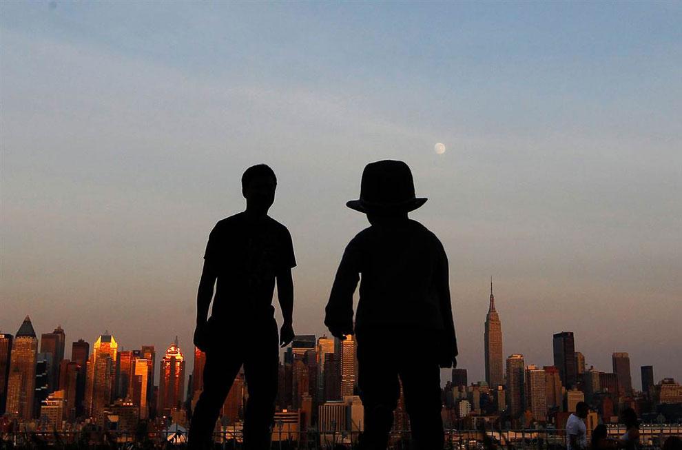 Смотровая площадка в Нью-Йорке