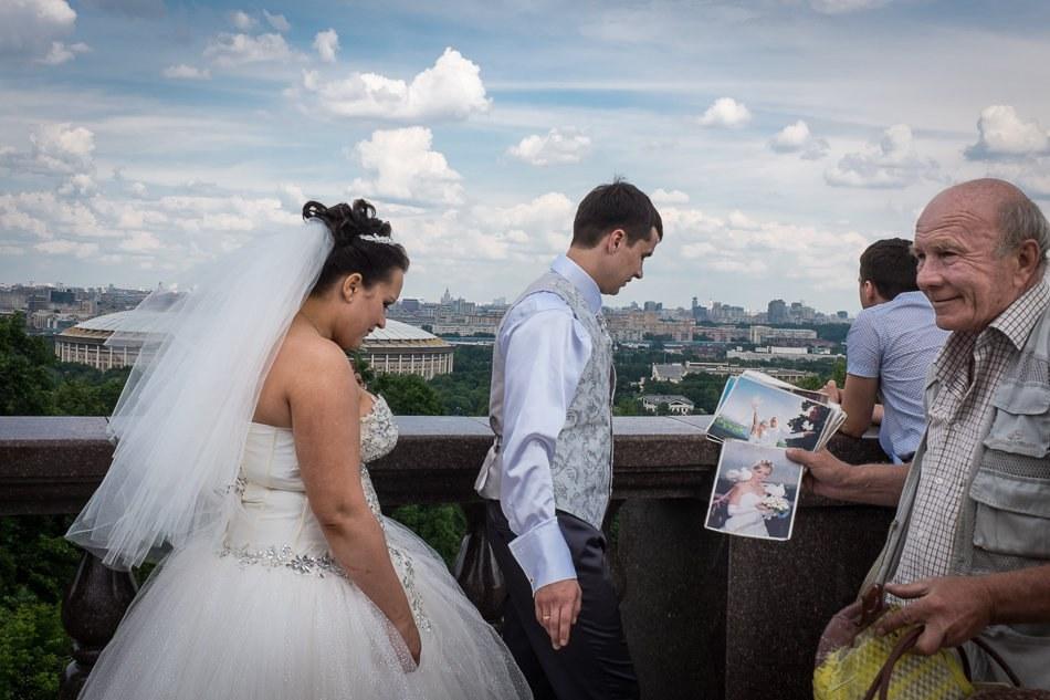 Лучше нету красоты, чем Москва с высоты!..