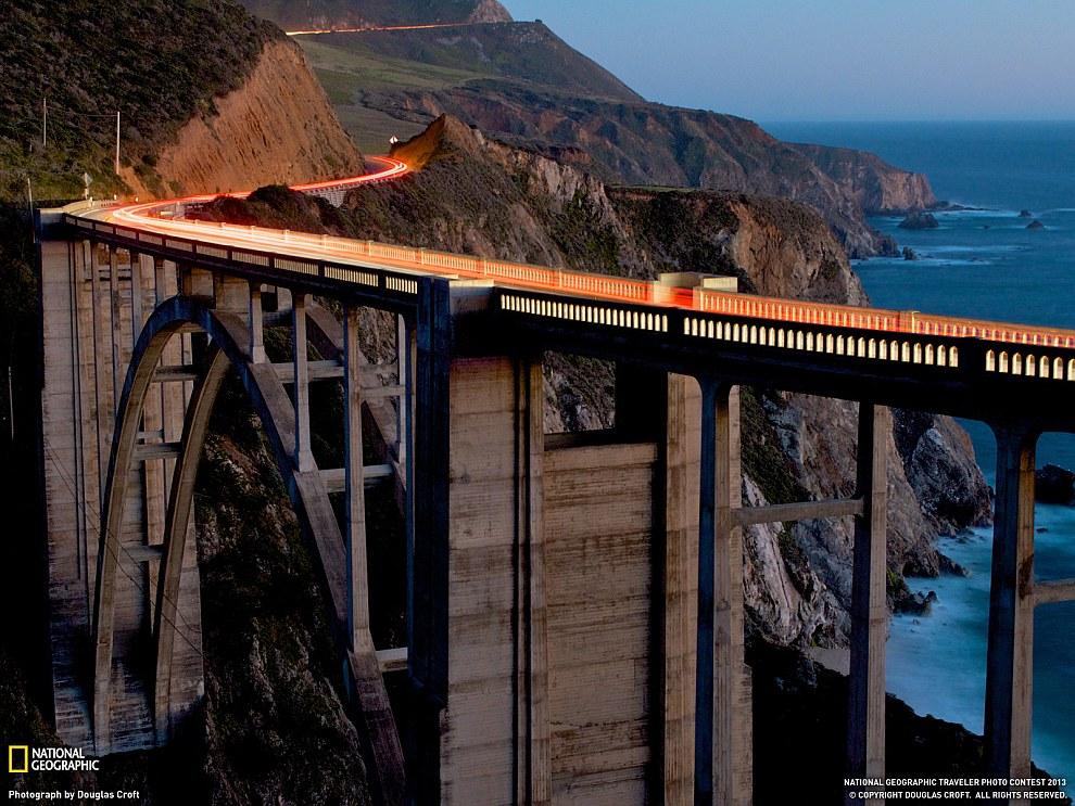 Мост Биксби Крик, Калифорния