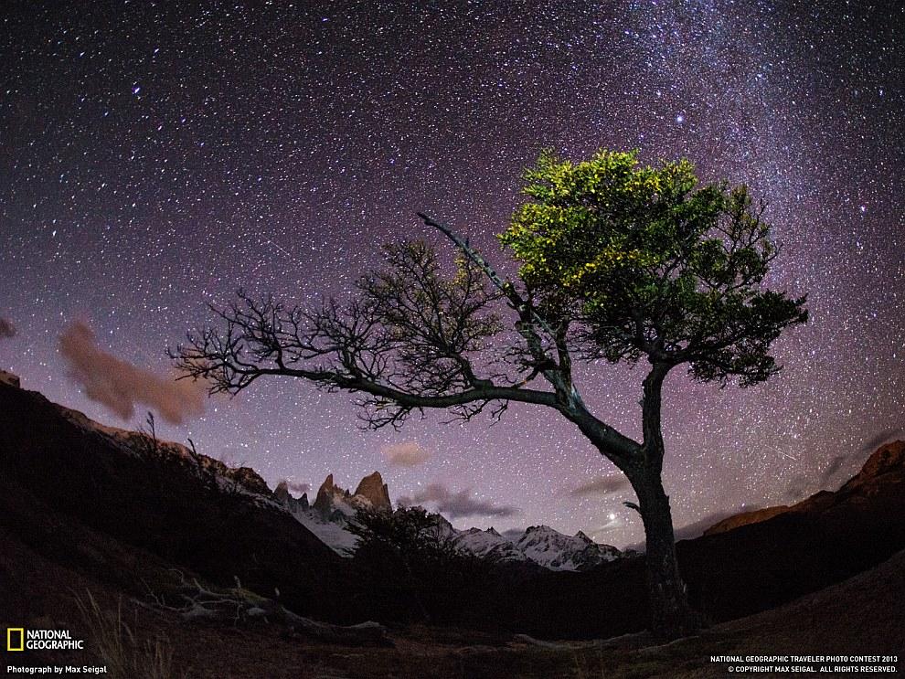 Ночное небо, Патагония