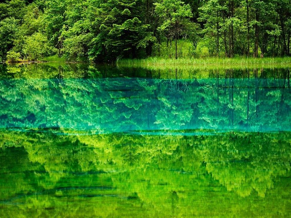 Озеро Пяти цветов, Китай