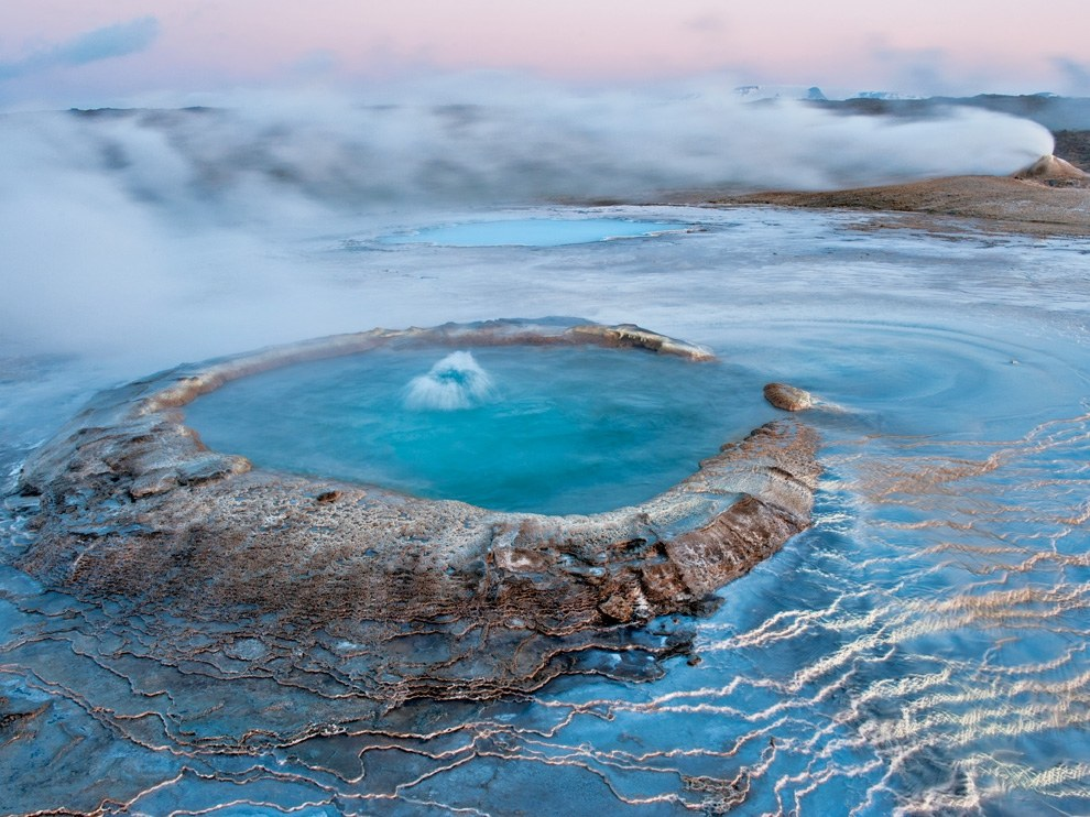 Хвераветлир, Исландия