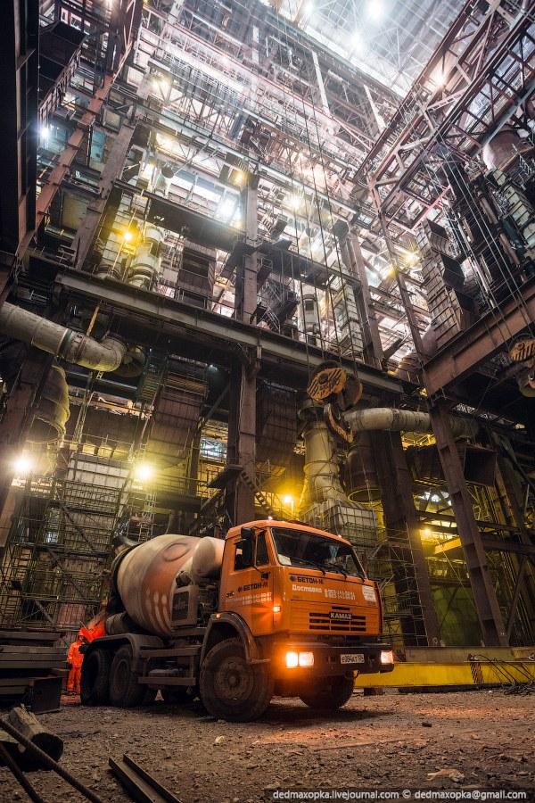 Экскурсия на угольную электростанцию