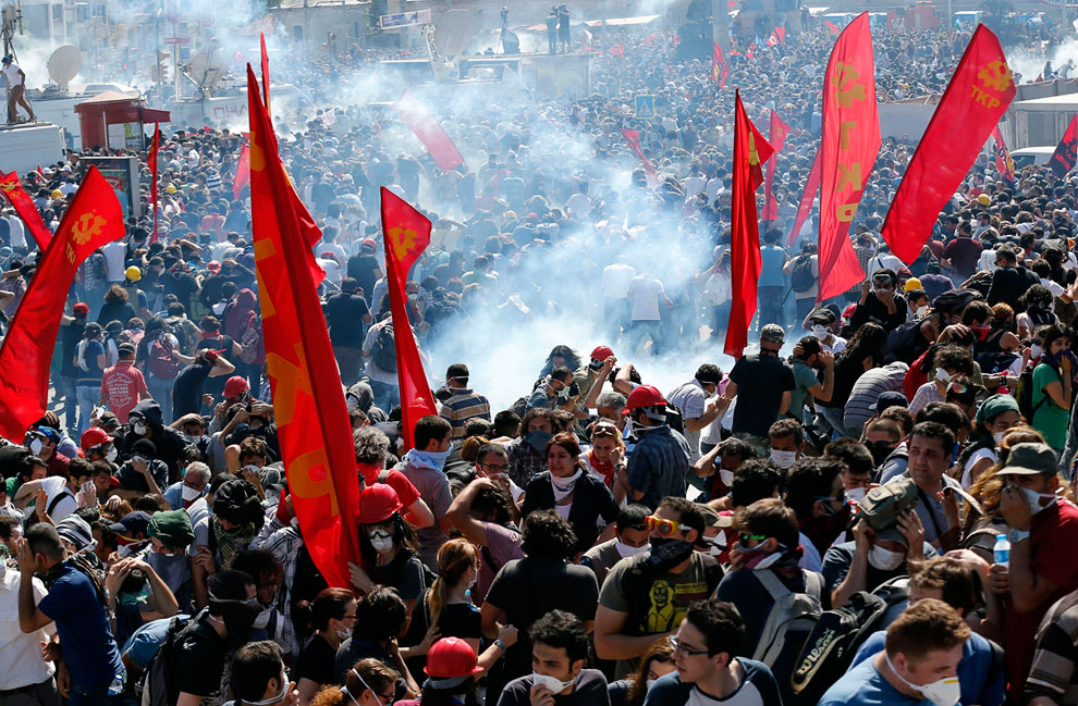 Центральная площадь Стамбула — Таксим