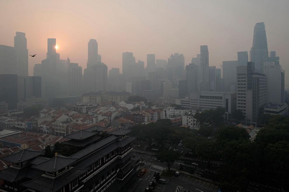 Смог в Сингапуре