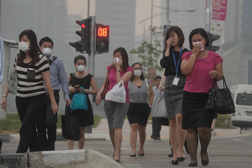 Сейчас в Сингапуре самый популярный товар — маски
