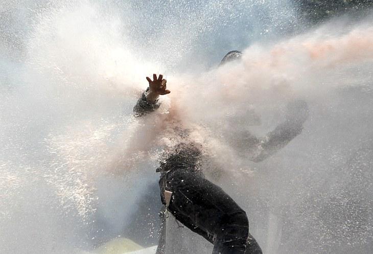 Уличные бои в Стамбуле