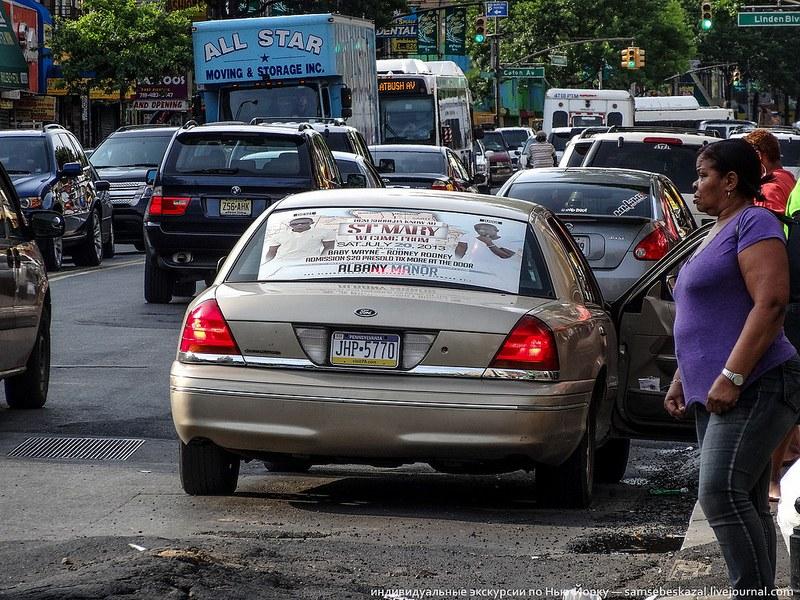 Нелегальные такси в Америке